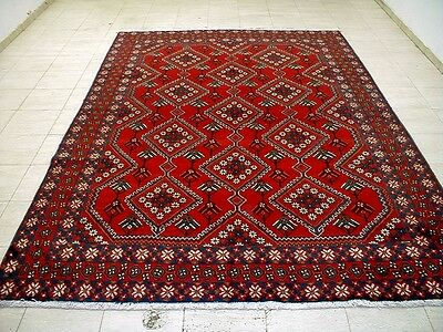 10X7 1940's MUSEUM MASTERPIECE HAND KNOTTED 70+YRS ANTQ WOOL SIRJAN PERSIAN RUG