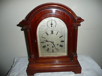 Large, Gustav Becker, Westminster Chimes Bracket Clock, For Restoration.