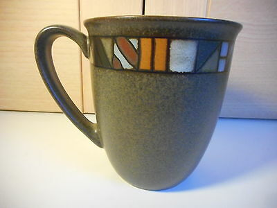 Denby Marrakesh Coffee Beaker Mug Used First Quality