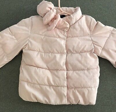Baby Gap toddler girl Pink Warm jacket coat size 18-24 months