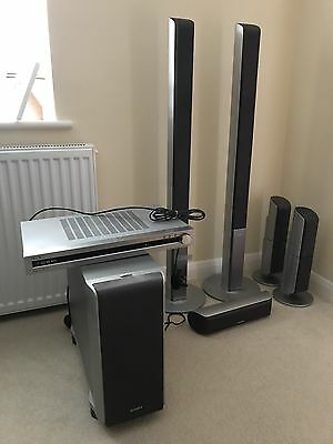 Sony surround sound speakers (including subwoofer)