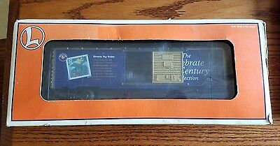 Lionel O Scale CELEBRATE THE CENTURY STAMP BOXCAR 6-26214 Stamp Collecting