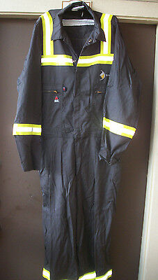 New Two Pair Wenaas Fr Anti Flame Reflective Overalls 48 Regular Coveralls