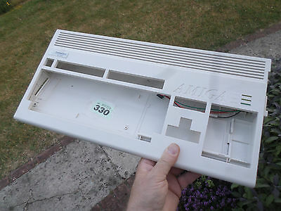 Amiga A1200 Case+screws+Led good white condition see lisiting no 330