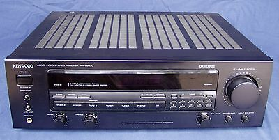 Kenwood KR-V6030 Audio/Video Stereo Receiver with Remote + Instruction Manual
