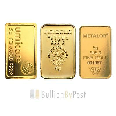 5 Gram Gold Bar Best Value