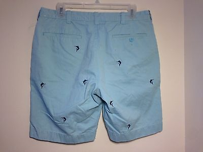Mens J.Crew Casual Short Size 32 - Shorts - Marlins - Cotton - Teal