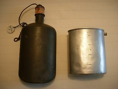 Vintage Sigg Wwii 1941 Army Canteen Water Bottle Gc