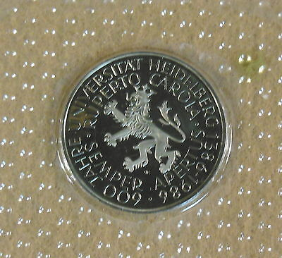 German Federal Republic  5 Mark  Proof 1986   Coin 25