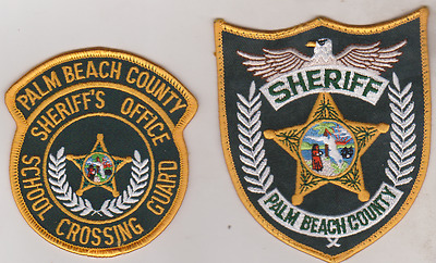 Palm Beach County FL Sheriff & Crossing Guard patches
