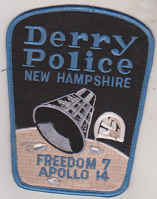 Derry NH Police  patch