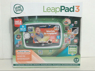 Leapfrog 31500 Leappad3 Kids' 4GB Learning Tablet Green $112 - AS IS