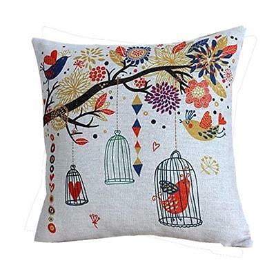 Pillow Case Sofa Waist Throw Cushion Cover Home Decoration For Christmas