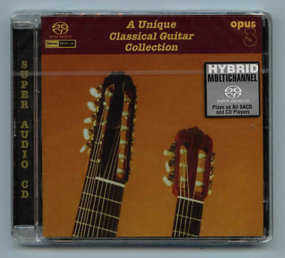 """Opus 3 Records """"A Unique Classical Guitar Collection"""" Multi-Channel Hybrid SACD"""