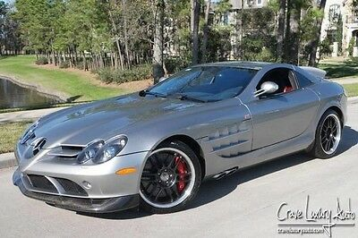 2007 Mercedes-Benz SLR McLaren Base Coupe 2-Door Mercedes SLR 722 Edition Ultra Rare Supercharged Crave Luxury Auto.