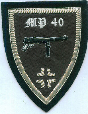 German Army MP 40 Maschinenpistole Submachine Gun Parabellum 9 MM Battle Assault
