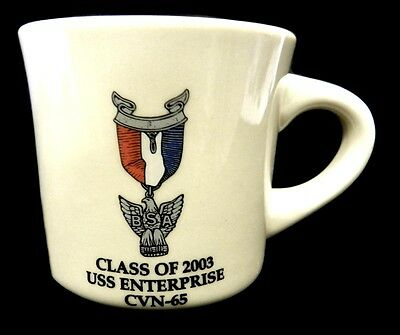 USS Enterprise CVN-65 Mug US Military Navy Ship Class of 2003 Cup Collectible