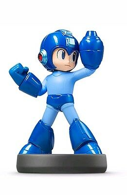 Nintendo Amiibo Character Mega Man Super Smash Bro Collection Wii U Switch 3DS