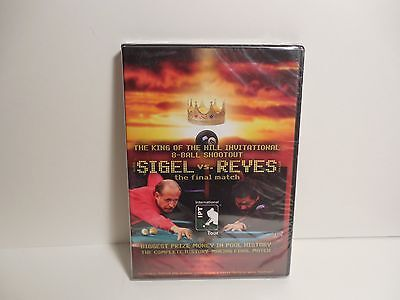 The King of the Hill Invitational 8~Ball Shoot Out~Sigel vs Reyes~DVD~Sealed~New