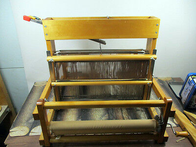 Vintage Nilus Leclerc 4 Harness Tabletop Loom Model Dorothy 15""
