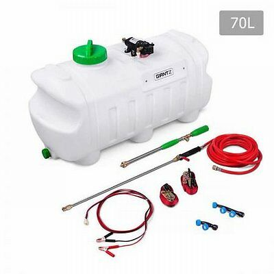 NEW 80 PSI 4.0L/min ATV Garden Weed Sprayer, Leak-proof 70L Tank with 3 Nozzles