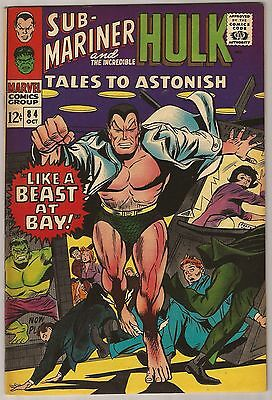 Tales To Astonish #84 Fn/vf 7.0