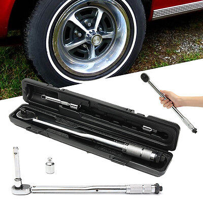42-210Nm Torque Wrench + 125mm Extension Rod+1/2'' 3/8'' Drive Ratchet Converter