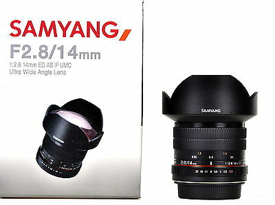 Samyang 14mm F2.8 ED AS IF UMC Wide Angle Lens For Canon  -  Ex-Demo