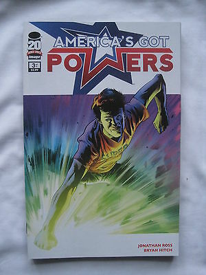 AMERICA'S GOT POWERS  3. By JONATHAN ROSS & BRYAN HITCH.  IMAGE  2013