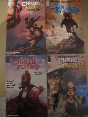 CHOLLY & FLYTRAP : COMPLETE 4 ISSUE SERIES by ARTHUR SUYDAM.VERY NOIR.IMAGE.2004
