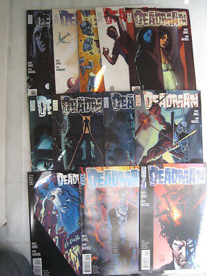 DEADMAN - COMPLETE 13 ISSUE SERIES by BRUCE JONES & JOHN WATKISS.DC VERTIGO.2006