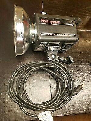 Photogenic Powerlight PL1250, reflector, power cord