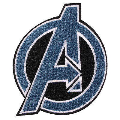 """New Avengers Patch Embroidered Iron/Sew ON Patch Sew Applique Badge 3.1X2.7"""""""