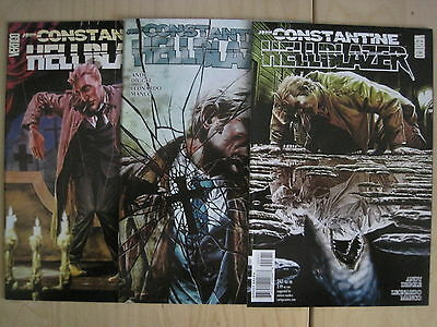 "HELLBLAZER 247,248,249 ""ROOTS of COINCIDENCE"",COMPLETE 3 PART STORY.2008.VERTIGO"