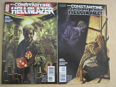 "HELLBLAZER 232,233 ""WHEELS of CHANCE"", COMPLETE 2 PART STORY.DIGGLE.2007.VERTIGO"