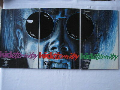 KID ETERNITY : COMPLETE PRESTIGE 3 ISSUE SERIES by MORRISON,FEGREDO.VERTIGO.1991