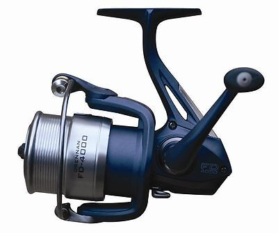 Drennan FD 4000 Compact Front Drag Feeder Fishing Reel + 2 Spare Alloy Spools