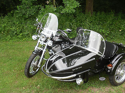 Harley Davidson Fxdc Super Glide Custom With Sidecar