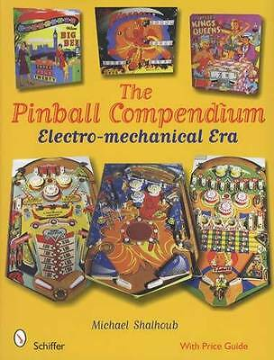 Pinball Machine Collector Reference 1930s-90s Bally Williams Gottlieb Parker Etc