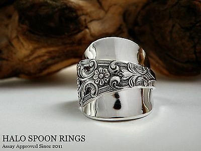 Beautiful Chunky Ladies Norwegian Silver Spoon Ring ***last One Available!! ***