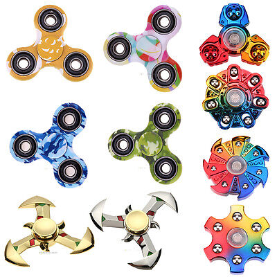 VariousTri Spinners EDC Fidget Spinner Finger Focus ADHD Autism Hand Funny Toy