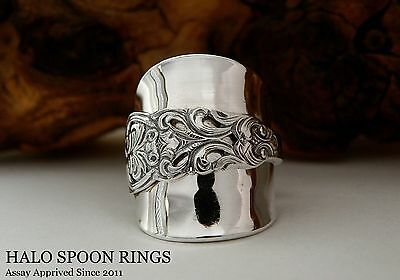 Stunning Chunky Ladies Norwegian Silver Spoon Ring *** Only One Available!! ***