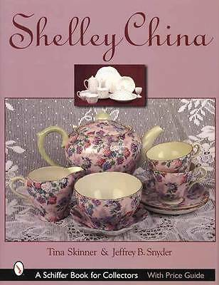 Shelley China Collector Guide Chintz China incl Wileman, Foley - 1,000 pcs Shown