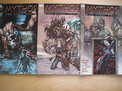 MYTHOS : THE FINAL TOUR : PRESTIGE SET OF 3 by REIBER, AMARO, GROSS.VERTIGO.1996