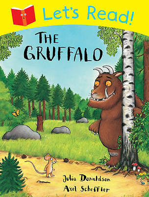 Let's Read! The Gruffalo, Donaldson, Julia, New Book