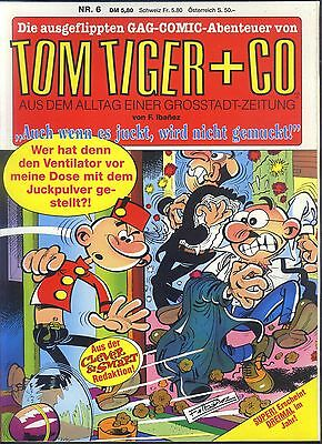Tom Tiger + Co Nr.6 von 1991 - TOP Z0-1 CONDOR COMIC-ALBUM ERSTAUFLAGE Ibanez