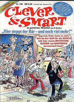 Clever & Smart Nr.106 von 1990 - TOP Z1 CONDOR ORIGINAL ERSTAUFLAGE COMIC-ALBUM