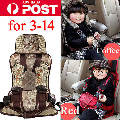Portable Infant Child Children Kids Baby Car Safety Booster Seat Cushion Carrier