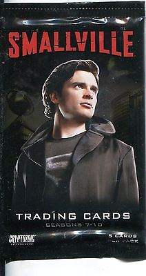Smallville Seasons 7-10 Factory Sealed Hobby Packet / Pack