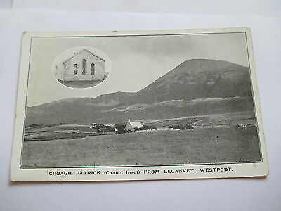 Unused C.1950's ,Lecanvey Westport ,Co.Mayo Postcard, Ireland Irish